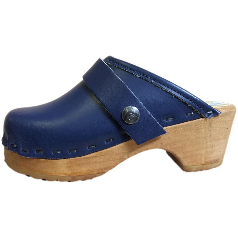 Tessa Children's Clogs in Blue
