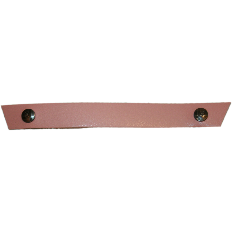 Tessa Narrow Light Pink Snap Strap