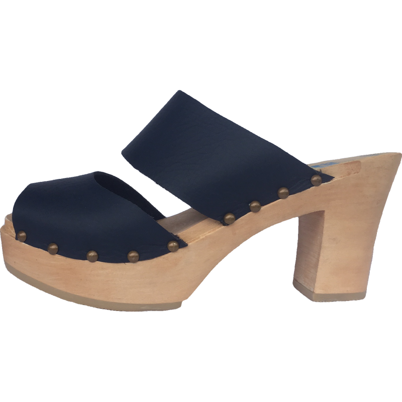 Navy Ultimate High Two Strap Sandal
