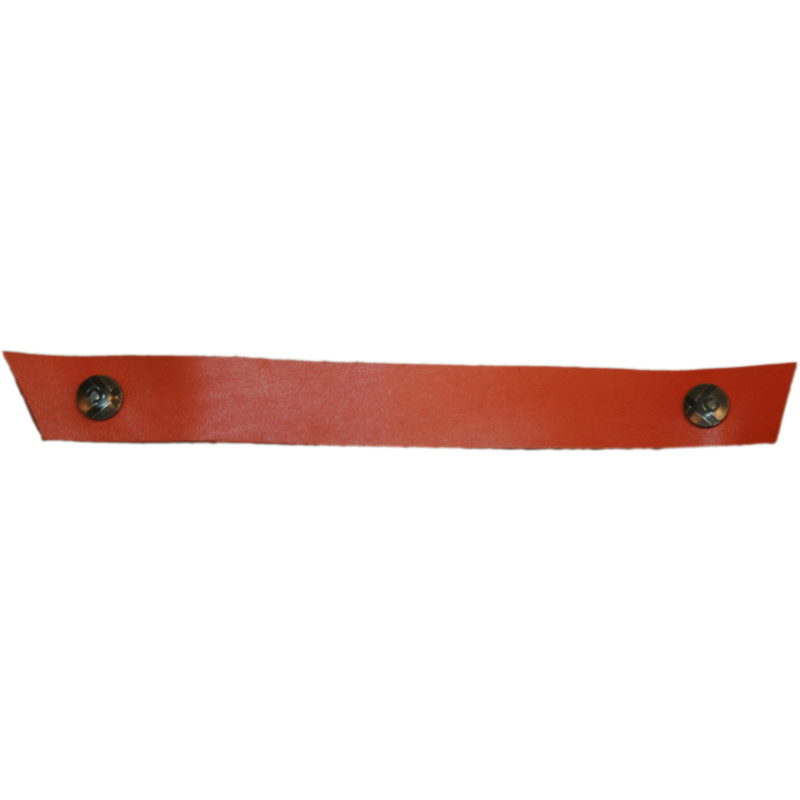 Tessa Narrow Orange Snap Strap