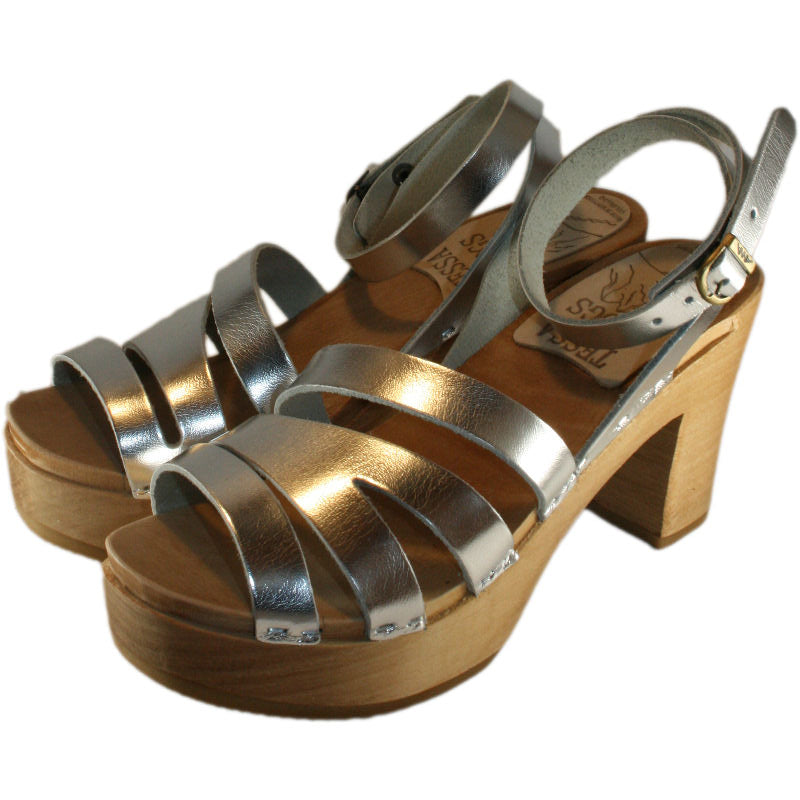 Ultimate High Katherine Sandal in your choice of Leather