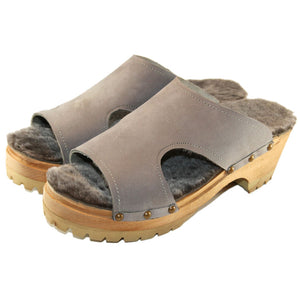 Mountain Sole Brita Shearling Sandal
