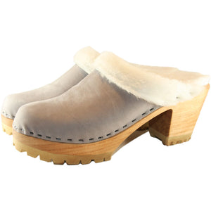 High Heel Mountain Shearling Lined in your choice of Leather
