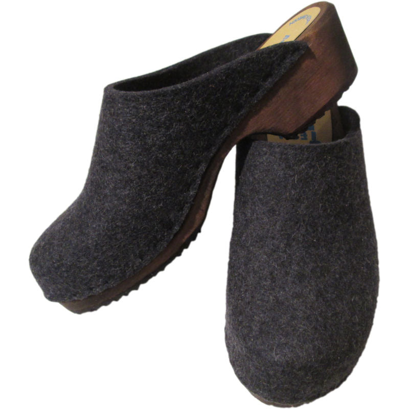 Traditional Heel Wool Anthracite