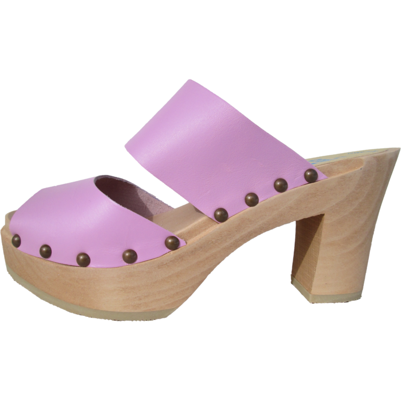 Ultimate High Two Strap Sandal in Rose Pink