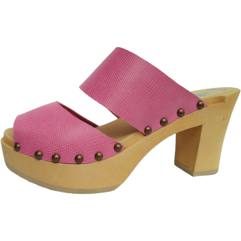 Pink Lizard Ultimate High Two Strap Sandal
