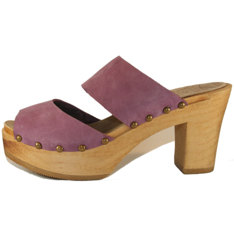 Orchid Nubuck Ultimate High Two Strap Sandal
