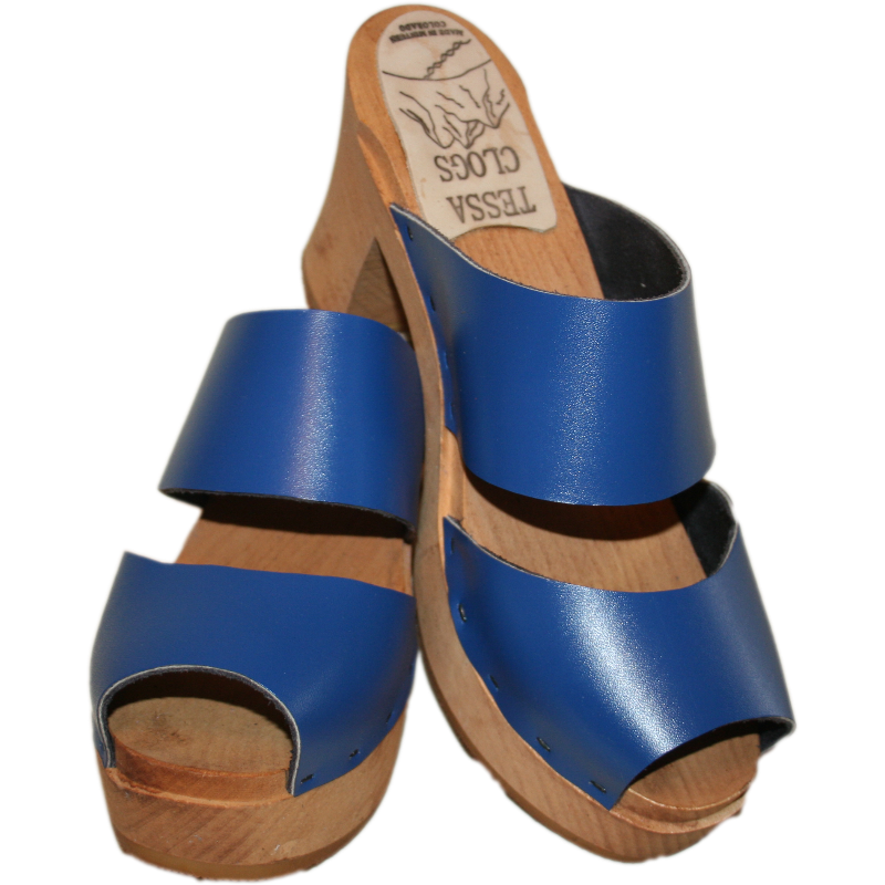 Classic Blue Ultimate High Two Strap Sandal