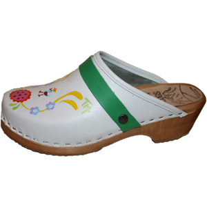 Tessa clogs Hand painted clogs