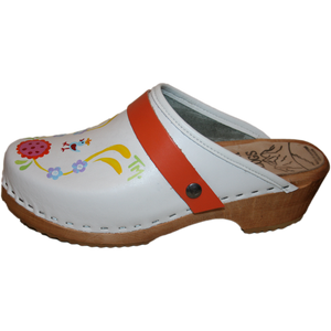 Hand painted Tessa Clogs