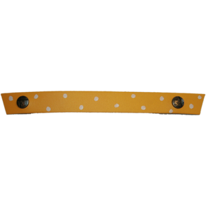 Snap Strap with Hand Painted Dots