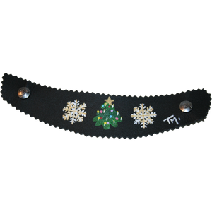 Hand Painted Christmas in Vail Strap