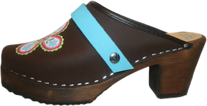 Tessa High Heel Hand Painted Gretta with choice of strap