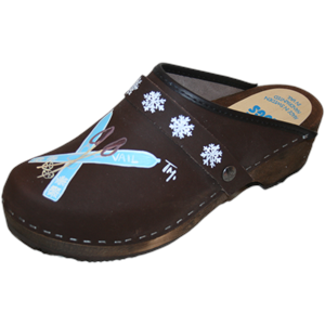 Traditional Heel Brown Oil Ski