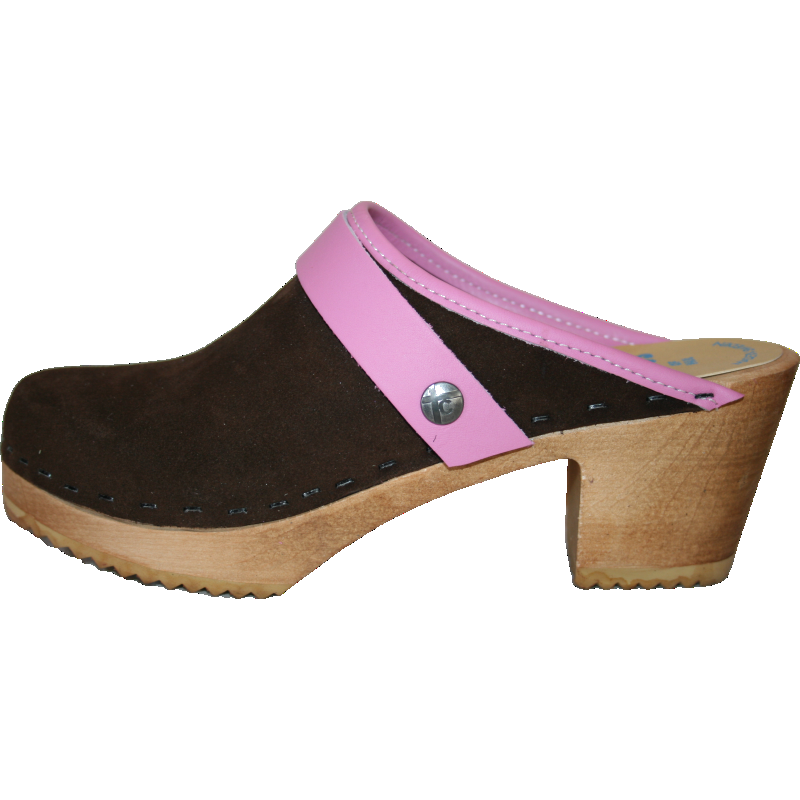 High Heel Brown Suede with Choices