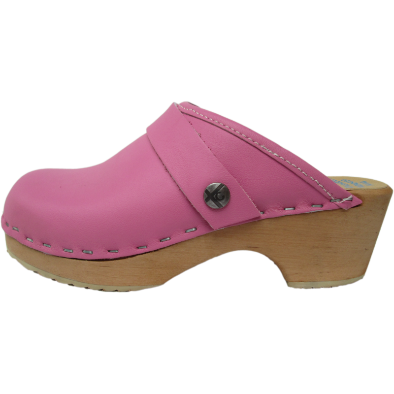 Children's Tessa Clogs in Hot Pink