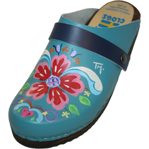 Traditional Heel Teal Petra