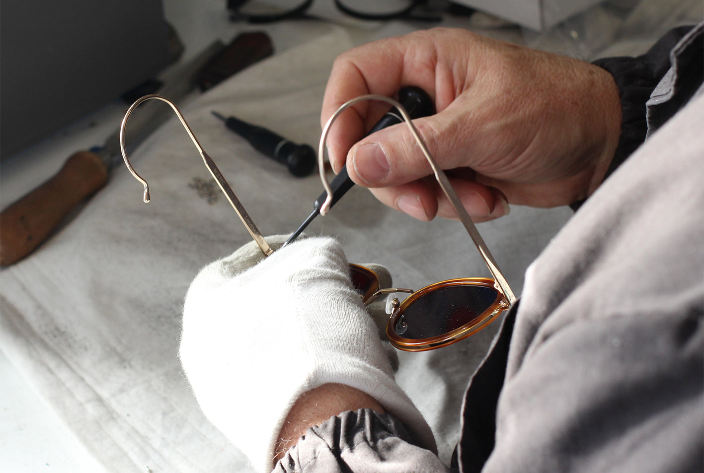 Craftsmanship of Eyewear