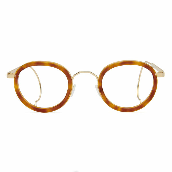 London Fields Spectacles - Light Tortoise - Home Try-On