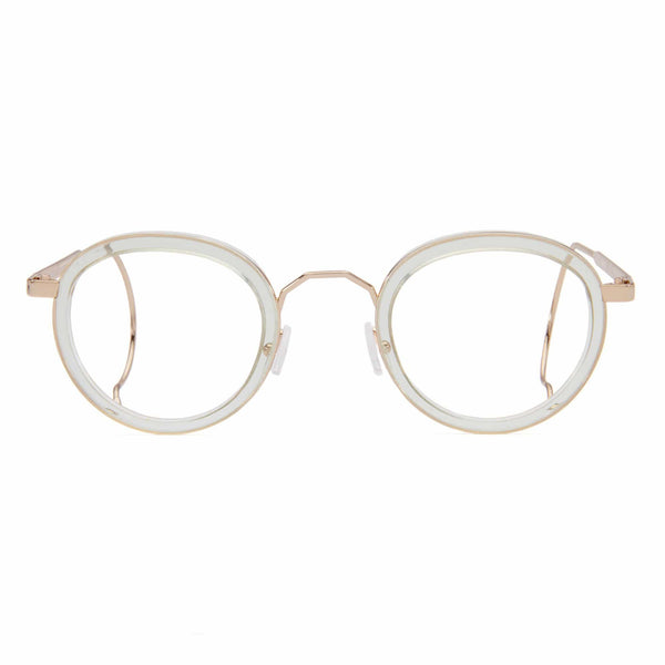 London Fields Spectacles - Peppermint - Home Try-On