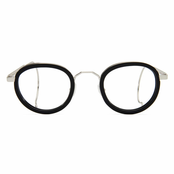 London Fields Spectacles - Black - Home Try-On