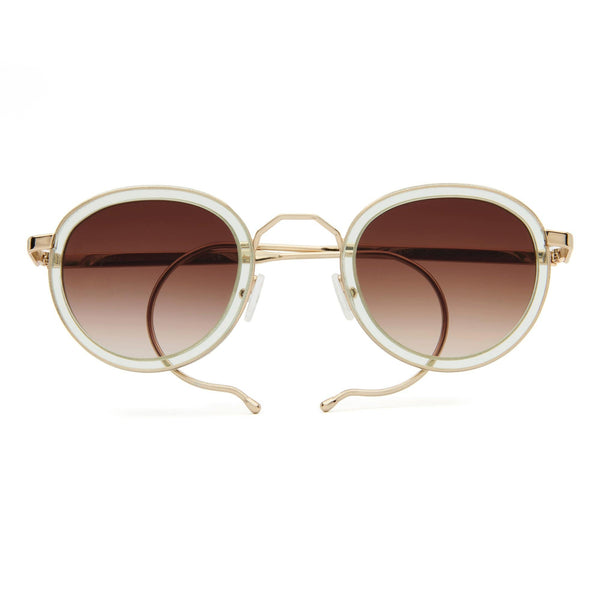 London Fields Sunglasses - Peppermint - Home Try-On