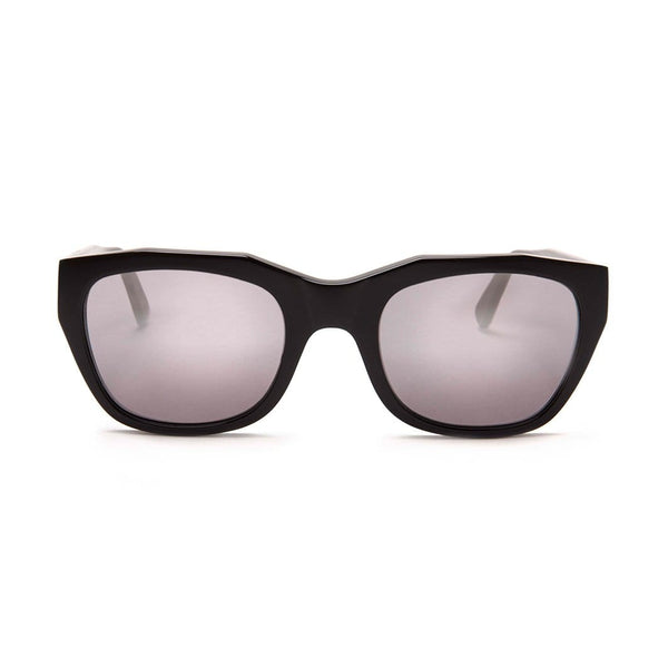 Gràcia Sunglasses -  Black | Mirror - Home Try-On