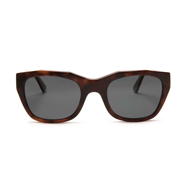 Gràcia Sunglasses -  Dark Tortoise - Home Try-On
