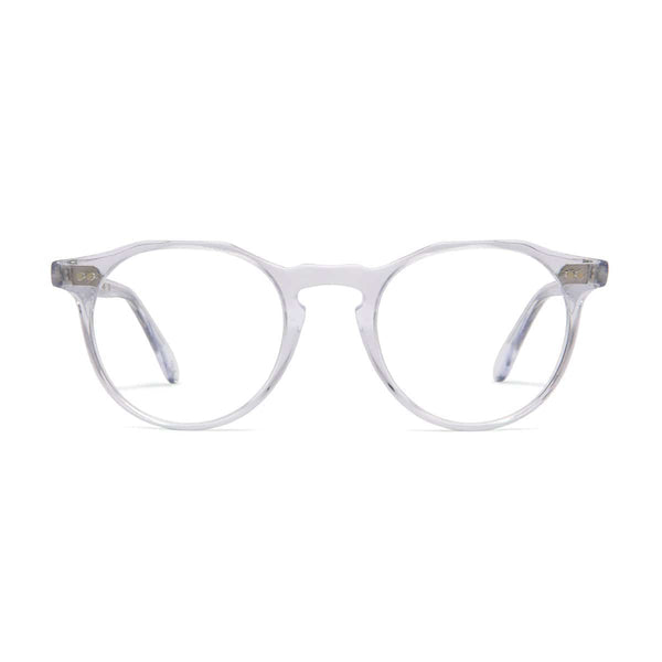 Kallio Medium Spectacles - Crystal - Home Try-On
