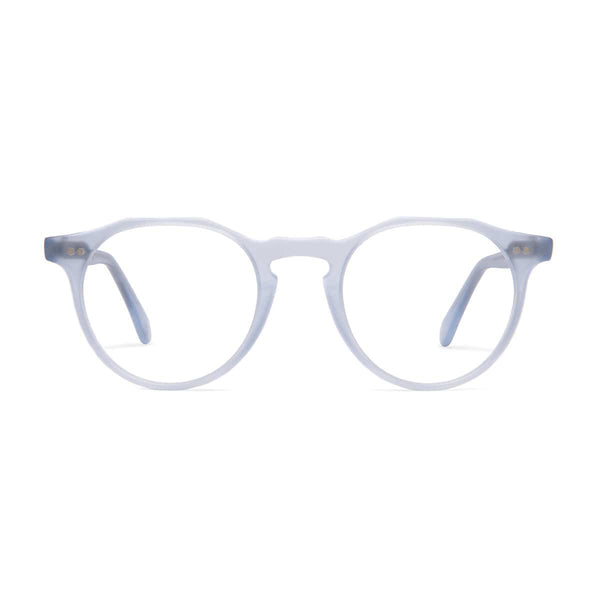 Kallio Medium Spectacles - Matt Azure - Home Try-On
