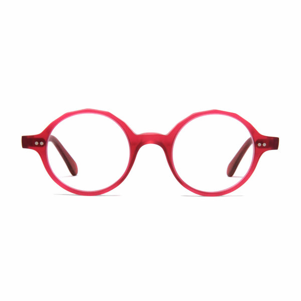 Løkka Spectacles - Matt Poppy Red - Home Try-On