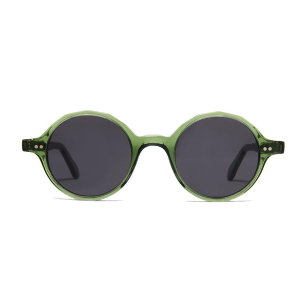 Løkka Sunglasses - Bottle Green - Home Try-On