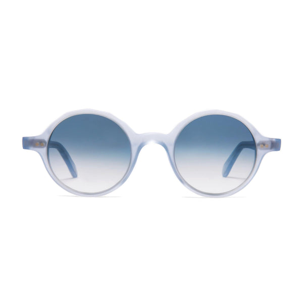 Løkka Sunglasses - Matt Azure | Azure - Home Try-On