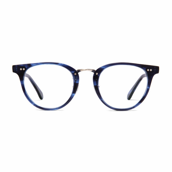 Monti Spectacles - Blue Marble - Home Try-On