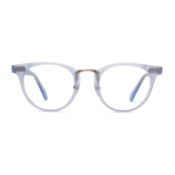Monti Spectacles - Matt Azure - Home Try-On