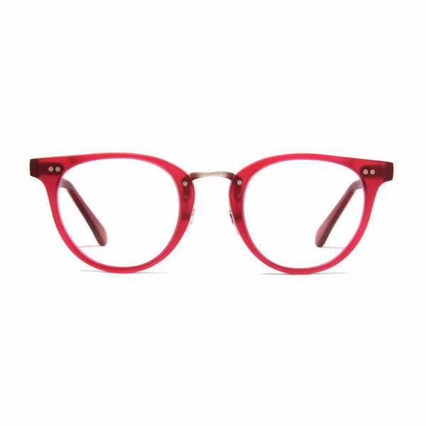 Monti Spectacles - Matt Poppy Red - Home Try-On