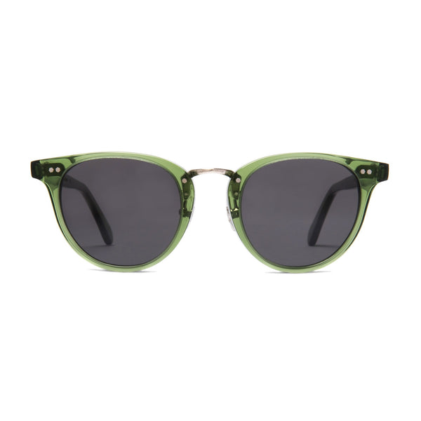 Monti Sunglasses - Bottle Green - Home Try-On