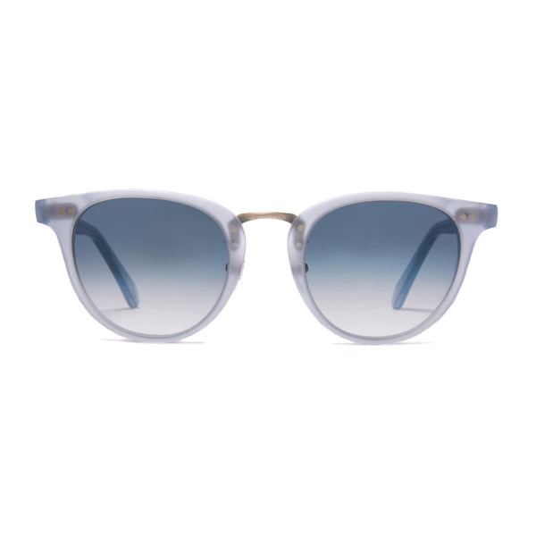 Monti Sunglasses - Matt Azure | Azure - Home Try-On