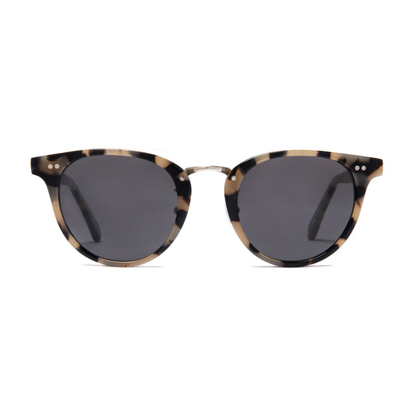 Monti Sunglasses - White Tortoise - Home Try-On