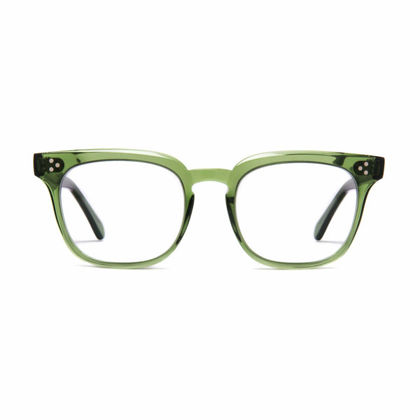 Príncipe Spectacles - Bottle Green - Home Try-On