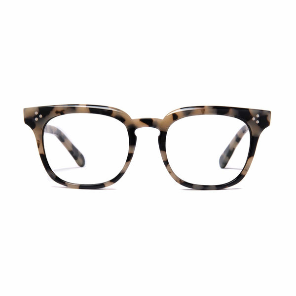 Príncipe Spectacles -  White Tortoise - Home Try-On