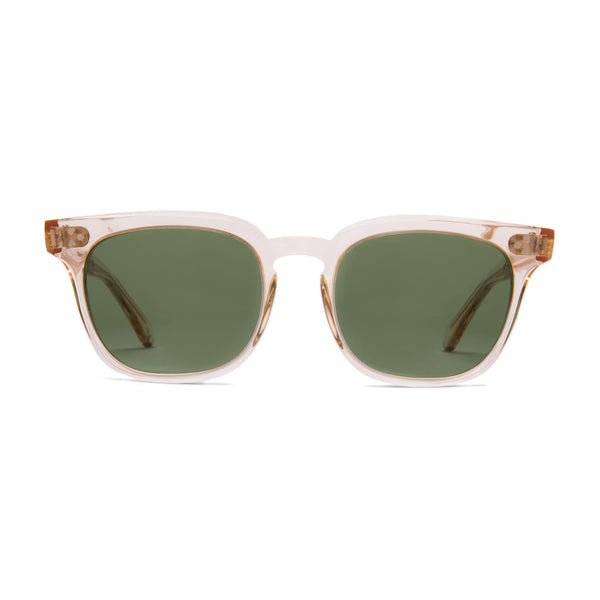 Príncipe Sunglasses - Apricot | Green - Home Try-On
