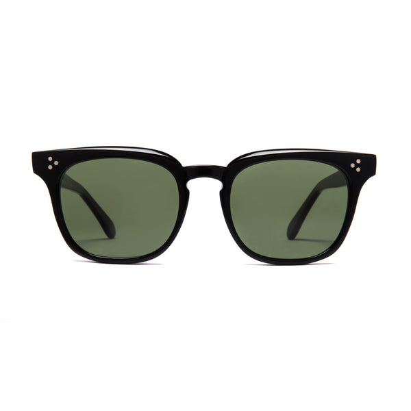 Príncipe Sunglasses - Black | Green - Home Try-On