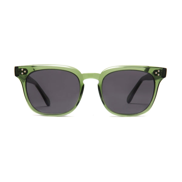 Príncipe Sunglasses - Bottle Green - Home Try-On
