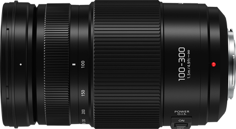 Lumix G Vario 100-300mm F/4-5.6 II Power O.I.S. - Dansk AV-teknik