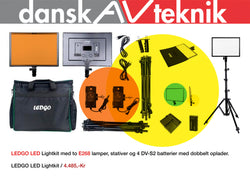 LEDGO E268 LED LYS KIT - Dansk AV-teknik