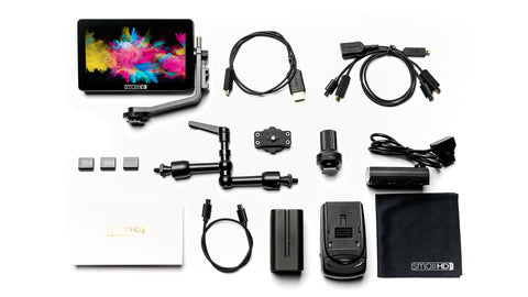 "SmallHD 5.5"" FOCUS OLED HDMI CINE Kit - Dansk AV-teknik"