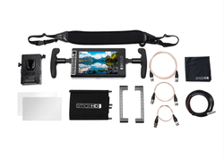 SmallHD 703 UltraBright Directors Kit / V-Mount - Dansk AV-teknik