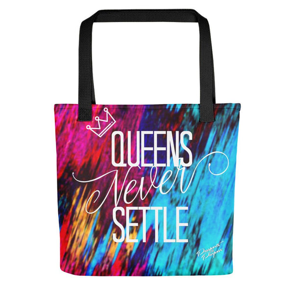 Queens Never Settle - Tote Bag