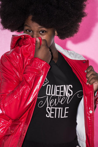 Queens Never Settle - Women's Tee